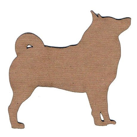 Leaky Shed Studio - Animal Collection - Chipboard Shapes - Husky