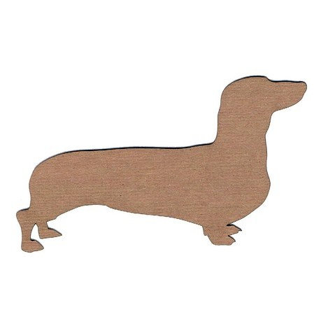 Leaky Shed Studio - Animal Collection - Chipboard Shapes - Dachshund 2