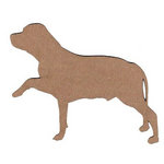 Leaky Shed Studio - Animal Collection - Chipboard Shapes - Labrador 1