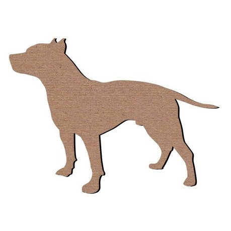 Leaky Shed Studio - Animal Collection - Chipboard Shapes - Pitbull
