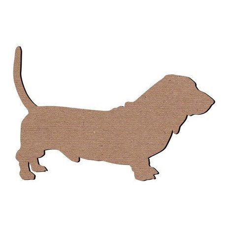 Leaky Shed Studio - Animal Collection - Chipboard Shapes - Basset Hound