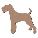 Leaky Shed Studio - Animal Collection - Chipboard Shapes - Airedale