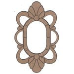 Leaky Shed Studio - Chipboard Shapes - Art Deco Oval Frame