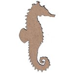 Leaky Shed Studio - Chipboard Shapes - Sea Horse