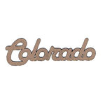 Leaky Shed Studio - Chipboard Words - Colorado