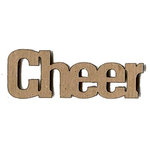 Leaky Shed Studio - Activity Collection - Chipboard Words - Cheer