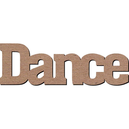 Leaky Shed Studio - Activity Collection - Chipboard Words - Dance