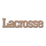 Leaky Shed Studio - Sport Collection - Chipboard Words - Lacrosse