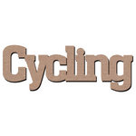 Leaky Shed Studio - Sport Collection - Chipboard Words - Cycling