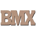 Leaky Shed Studio - Sport Collection - Chipboard Words - BMX