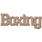 Leaky Shed Studio - Sport Collection - Chipboard Words - Boxing