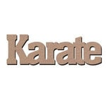 Leaky Shed Studio - Sport Collection - Chipboard Words - Karate