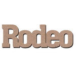 Leaky Shed Studio - Sport Collection - Chipboard Words - Rodeo