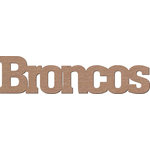 Leaky Shed Studio - Mascot Collection - Chipboard Words - Broncos