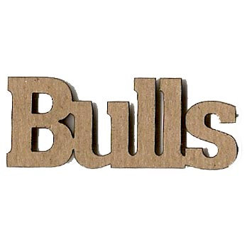 Leaky Shed Studio - Mascot Collection - Chipboard Words - Bulls