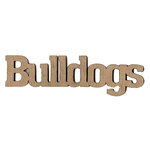 Leaky Shed Studio - Mascot Collection - Chipboard Words - Bulldogs