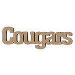 Leaky Shed Studio - Mascot Collection - Chipboard Words - Cougars