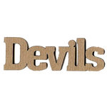 Leaky Shed Studio - Mascot Collection - Chipboard Words - Devils