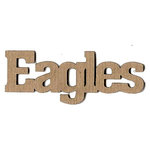 Leaky Shed Studio - Mascot Collection - Chipboard Words - Eagles