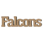 Leaky Shed Studio - Mascot Collection - Chipboard Words - Falcons