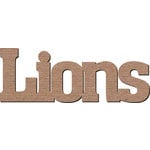 Leaky Shed Studio - Mascot Collection - Chipboard Words - Lions