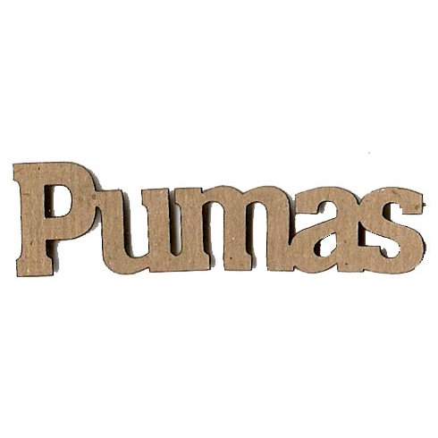 Leaky Shed Studio - Mascot Collection - Chipboard Words - Pumas