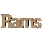 Leaky Shed Studio - Mascot Collection - Chipboard Words - Rams