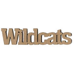 Leaky Shed Studio - Mascot Collection - Chipboard Words - Wildcats