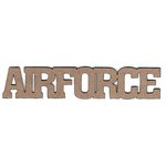 Leaky Shed Studio - Chipboard Words - Air Force