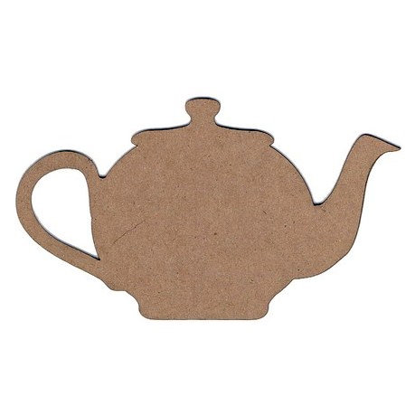 Leaky Shed Studio - Chipboard Shapes - Teapot