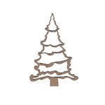 Leaky Shed Studio - Chipboard Shapes - Merry Christmas Tree - Small
