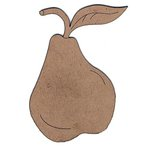 Leaky Shed Studio - Chipboard Shapes - Pear