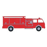 Leaky Shed Studio - Cardstock Die Cuts - Fire Truck