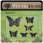 Vintaj Metal Brass Company - Arte Metal - Decorivets - Butterfly