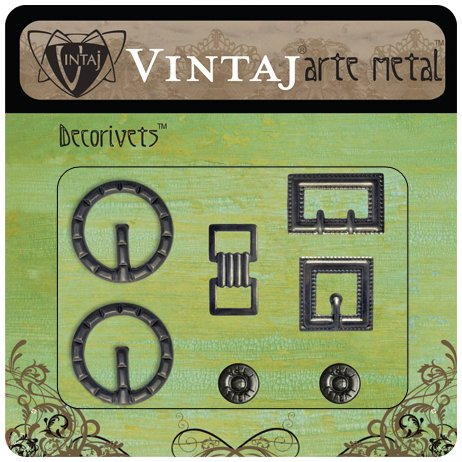 Vintaj Metal Brass Company - Arte Metal - Decorivets - Buckle