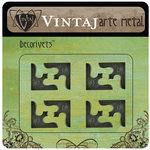 Vintaj Metal Brass Company - Arte Metal - Decorivets - Corner Decor