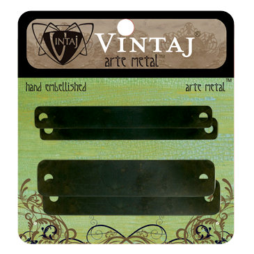 Vintaj Metal Brass Company - Arte Metal - Hardware - Name Plates