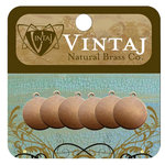 Vintaj Metal Brass Company - Sizzix - Metal Altered Blanks - Circle Tag - 12 mm