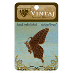 Vintaj Metal Brass Company - Metal Embellishments - Butterfly Profile