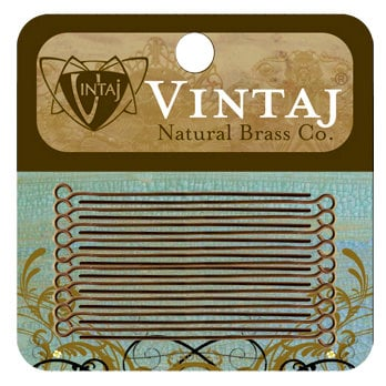 Vintaj Metal Brass Company - Metal Jewelry Hardware - Eye Pin - Long