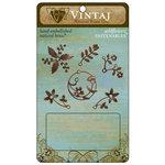 Vintaj Metal Brass Company - Metal Fastenables - Wild Flowers