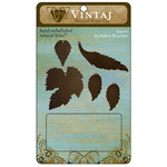 Vintaj Metal Brass Company - Metal Altered Blanks - Leaves