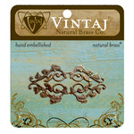 Vintaj Metal Brass Company - Metal Embellishments - Deco Vines Filigree