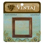 Vintaj Metal Brass Company - Metal Embellishments - Window Frame