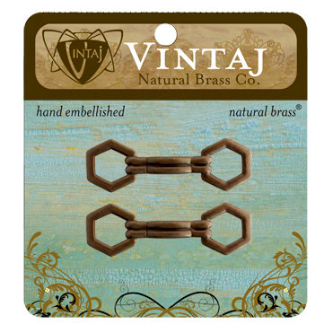 Vintaj Metal Brass Company - Metal Embellishments - Handle