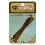 Vintaj Metal Brass Company - Sizzix - Metal Embellishments - Tall Tag