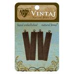 Vintaj Metal Brass Company - Sizzix - Metal Embellishments - Tag