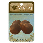 Vintaj Metal Brass Company - Sizzix - Metal Altered Blanks - Small Circle