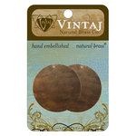 Vintaj Metal Brass Company - Sizzix - Metal Altered Blanks - Circle