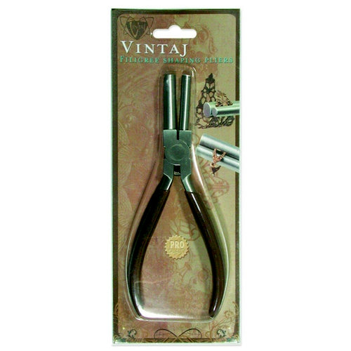Vintaj Metal Brass Company - Tools - Filigree Shaping Pliers